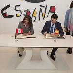 Firma Convenio cooperación turística España - Perú