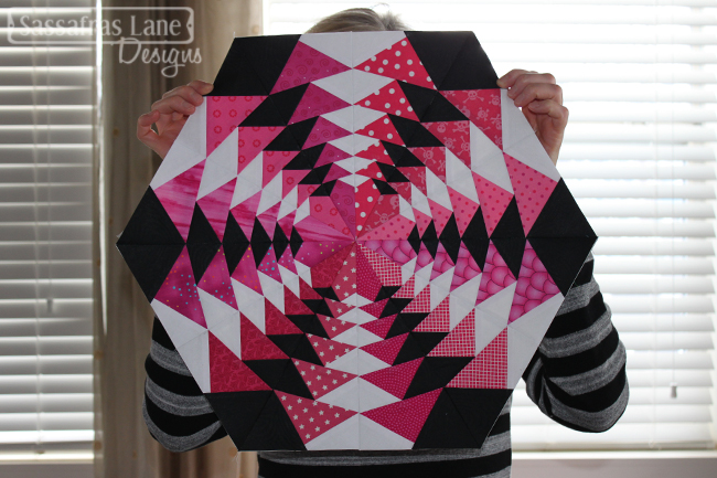 Pink Fly Away Block