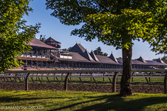 Early Morning at the Saratoga Race Course