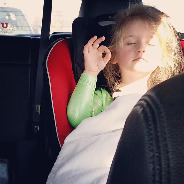 """""""SHHH! I'M DOING MY NERDS!"""" (Translation: Vivi is calming her nerves.) ????????"""