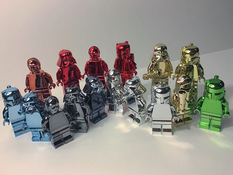 Star Wars Chrome Color Figs