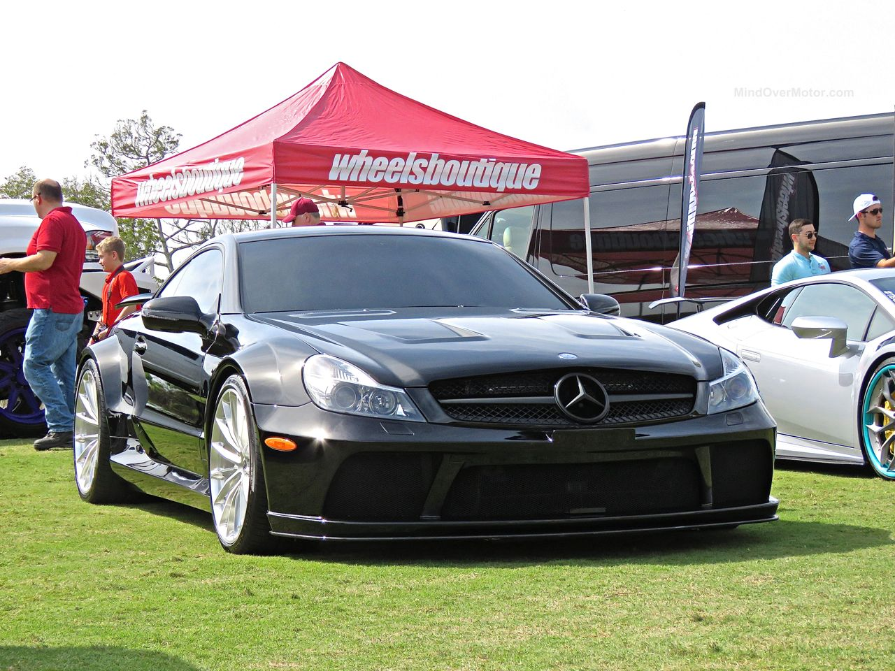 Mercedes-Benz SL65 Black Series Amelia Island