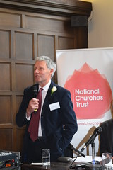 Tom Ramsden, Chairman of the Yorkshire Historic Churches Trust