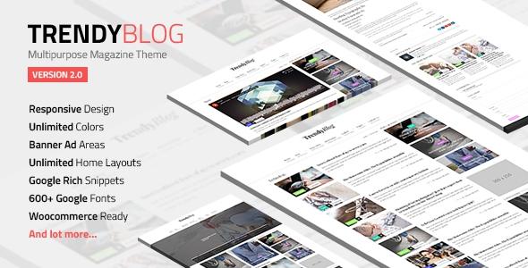 TrendyBlog v2.1.0 – Multipurpose Magazine Theme