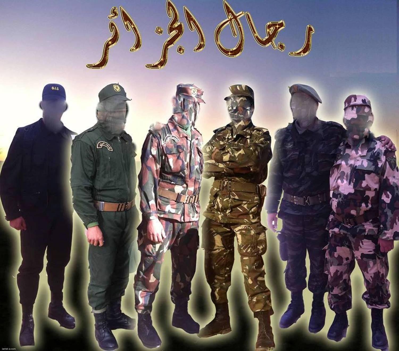 البذلات الجيش الوطني الشعبي الجزائري [ ANP / GN / DGSN / Douanes ]  27126893514_156fe23d76_o