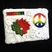 Imagine peace polymer on canvas by higirlsdesigns