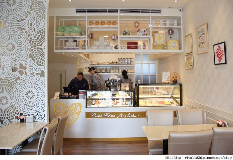 金心盈福 Cuore D'oro法義甜點 台中法式甜點 台中甜點 台中下午茶 台中推薦甜點 義式冰淇淋47
