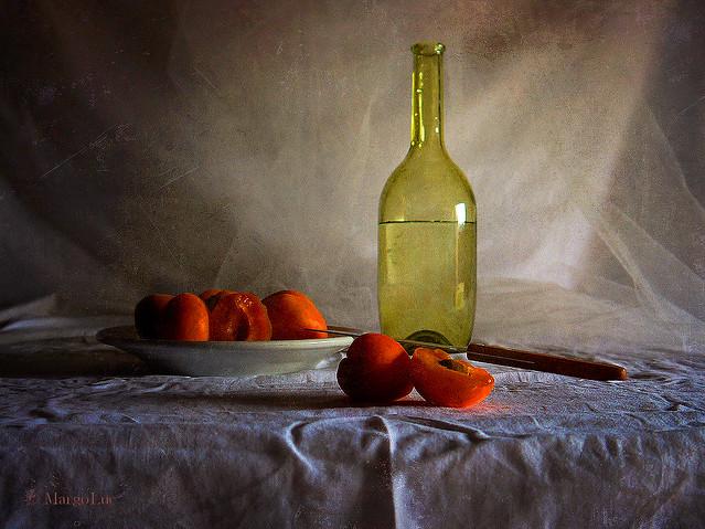 Still Life & Apricots