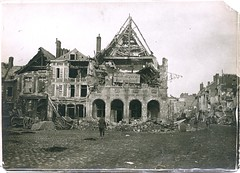HS 2-31 (front) - Peronne City Hall - WWI
