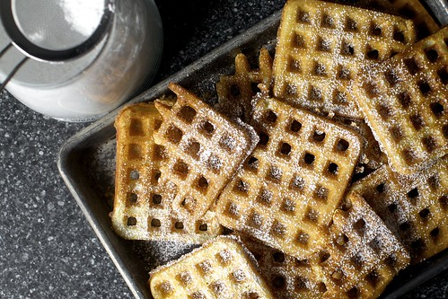 grids and grids of perfect waffles