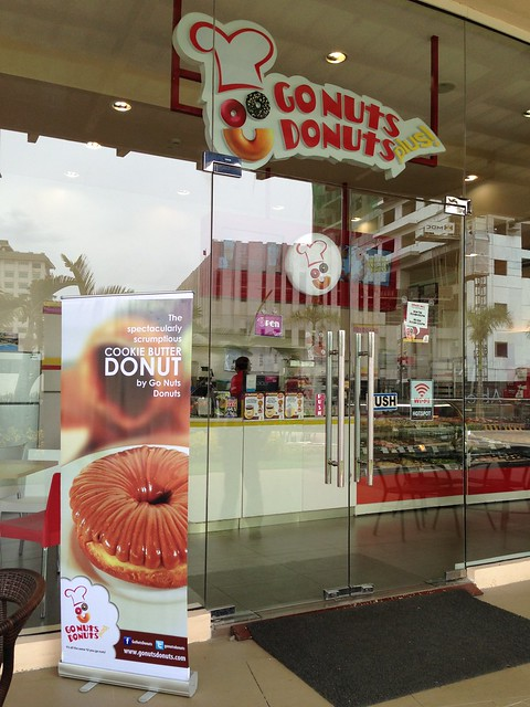 Scrumptious Cookie Butter Donuts by Go Nuts Donuts Now Available in Davao... photo by DavaoFoodTrip.com