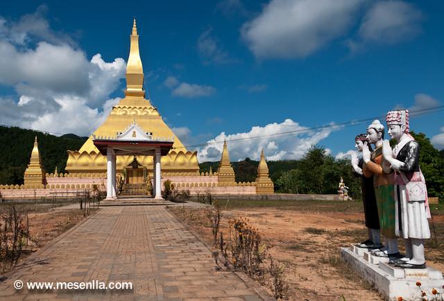 Pagoda en Luang Namtha