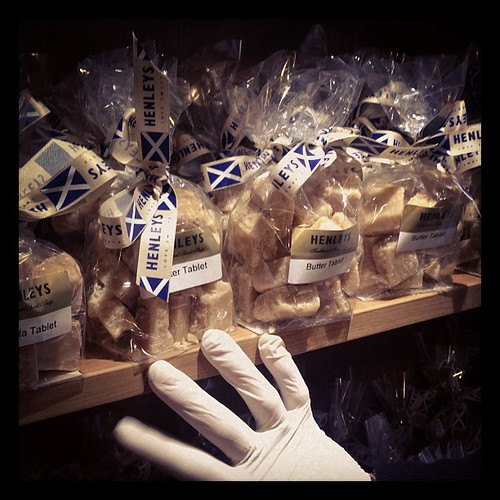 Tablet, the national sweet treasure of Scotland! Sweeter and harder than fudge!!!!!