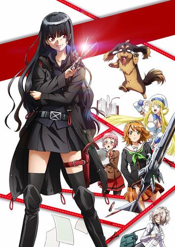 130511(2) - 7月份電視動畫版《狗與剪刀必有用》發表第二版海報、第二批聲優名單、第二支預告片!