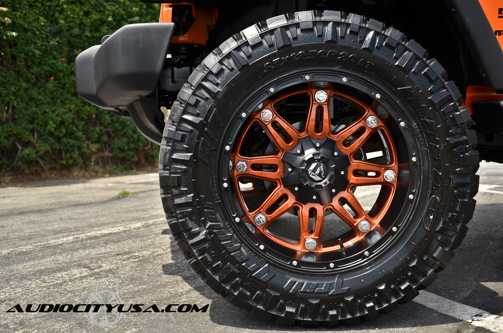 Jeep Wrangler Wheels and Tires Packages