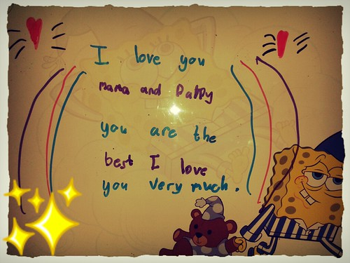 little note from Vanya
