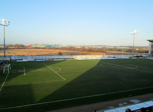 Falkirk Stadium, View from Main Stand