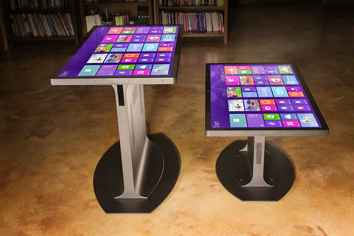 Ideum 3M Multitouch Table and Multitouch Coffee Table