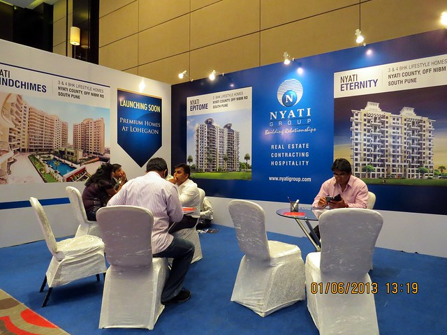 www.nyatigroup.com - Visit Times Property Showcase 2013, 1st &2nd June 2013, JW Marriott, S B Road, Pune