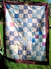 Pink and Blue Quilt for QBB
