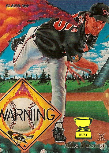 Mike Mussina 1995 Fleer Pro Visions
