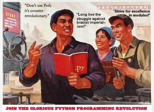 Peace Corps Uses Python