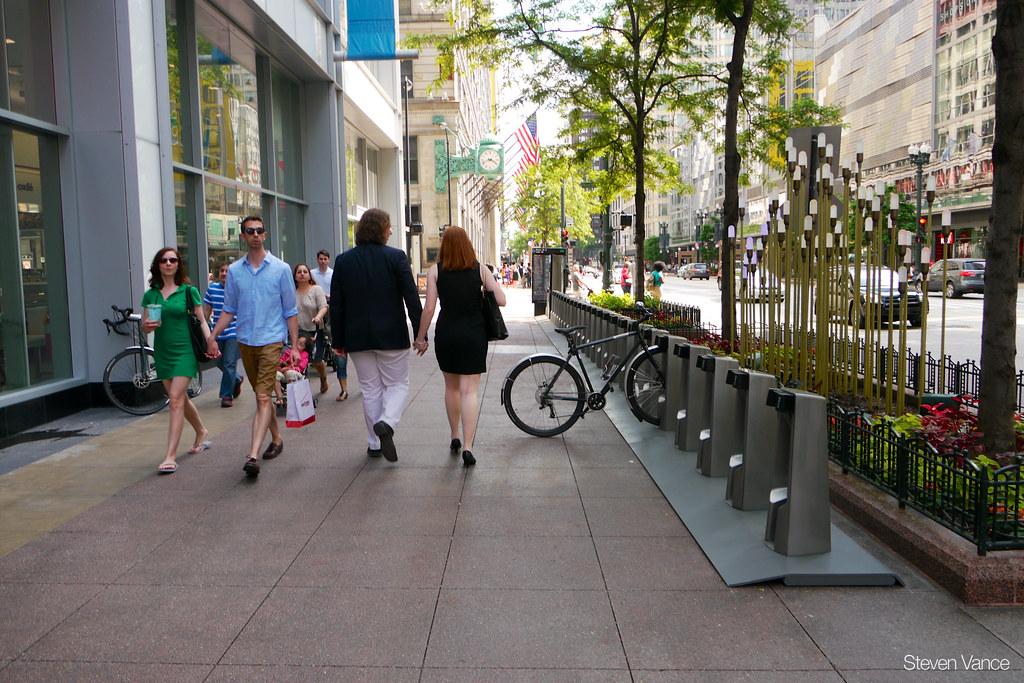 Divvy bike sharing station