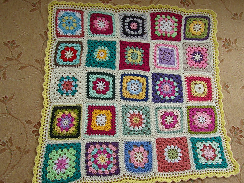 445 'creativegranny' made a SIBOL Blanket for Olive her Sister-in-law who is in a Care Home. Beautiful!