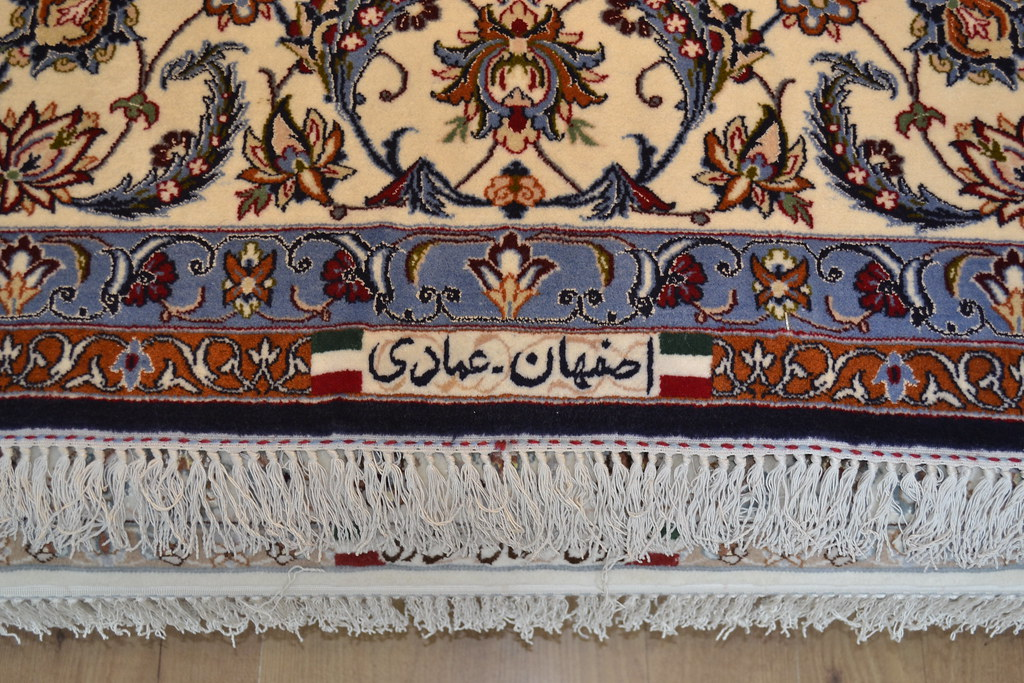Isfahan Silk Persian Area Rug