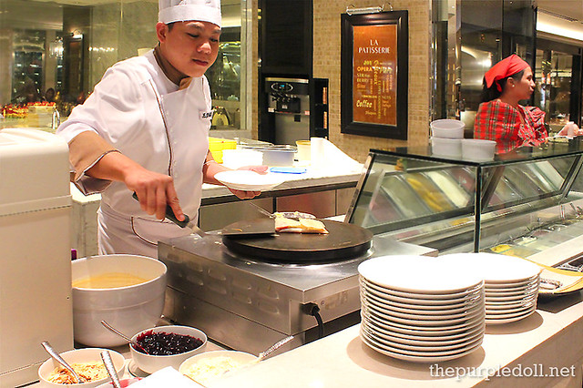 Crepe Station at Spiral Sofitel