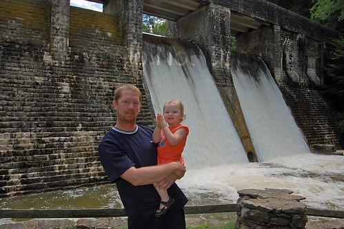 standing stone park dam chris and rowan watermark