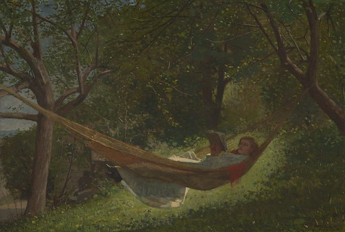 Winslow Homer, Girl in a Hammock