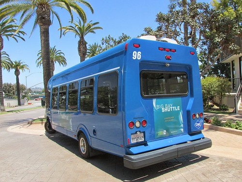 "The ""Big Bay Shuttle"" Ford mini bus.  San Diego California.  June 2013. by Eddie from Chicago"
