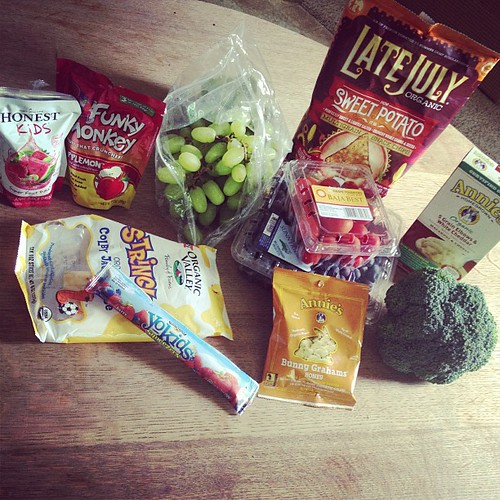Starting lunch... with a few yummy #review items (shhh! I already buy this stuff; can't hurt to get a few free)