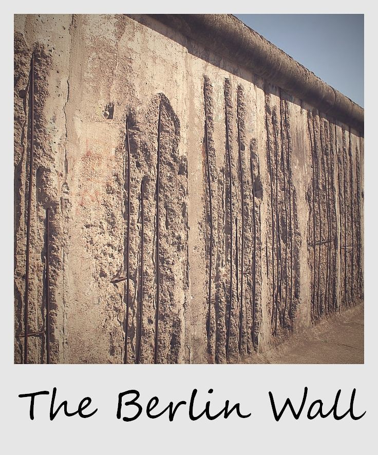 polaroid of the week germany berlin wall
