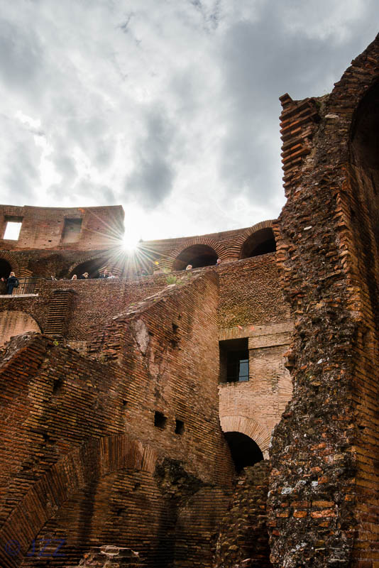 Inside Colosseum, Rome, Italy