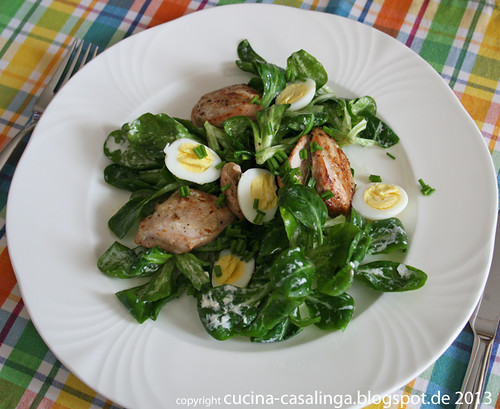 Wachtel Feldsalat