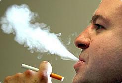 Bull smoke vapor