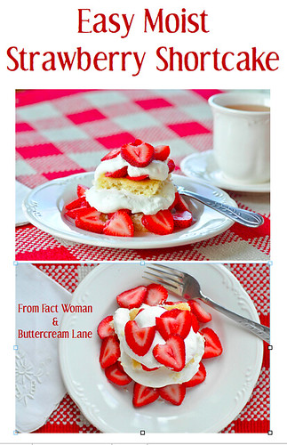 Strawberry Shortcake from Fact Woman & Buttercream Lane