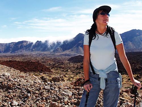 Climbing Mount Teide