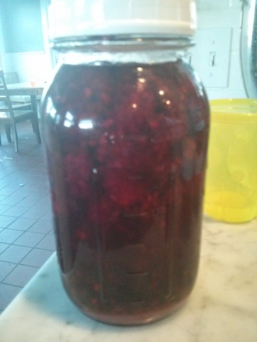 Marionberry cordial