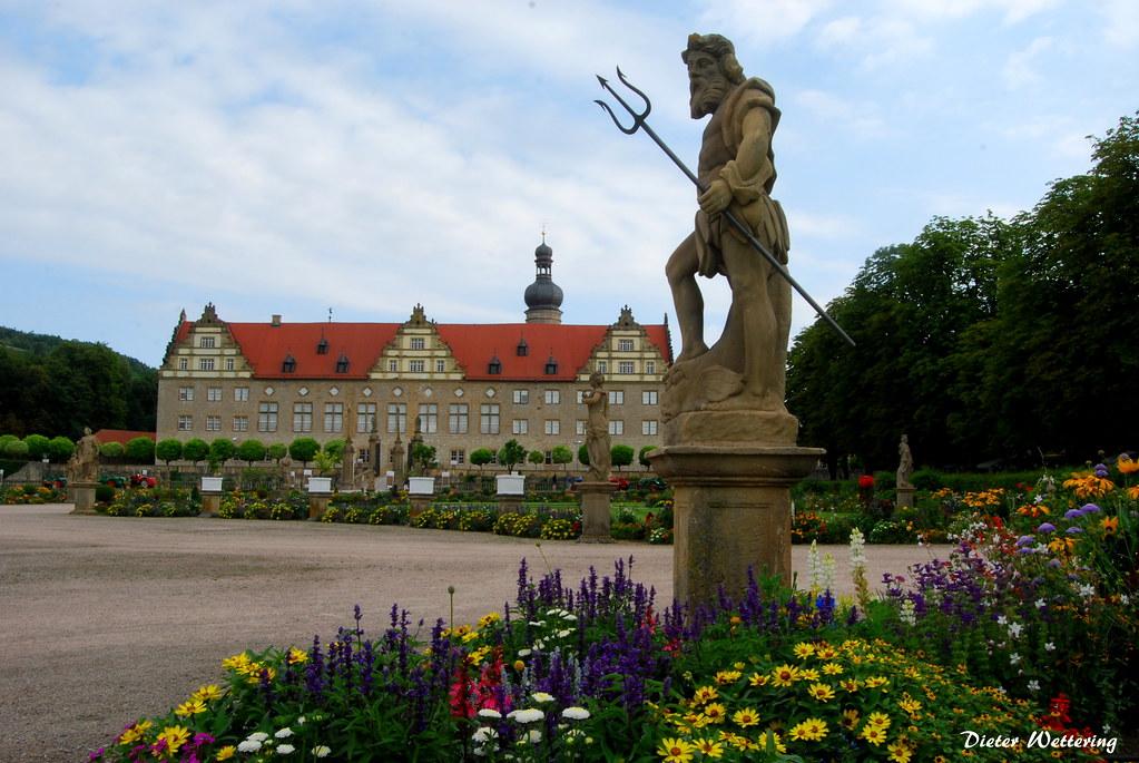 Barockgarten und Schloss Weikersheim