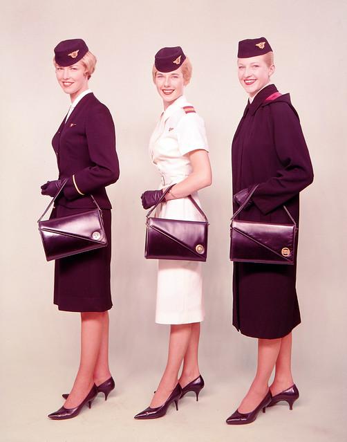 Air Hostess Uniform 1959 Summer And Winter 001 Flickr