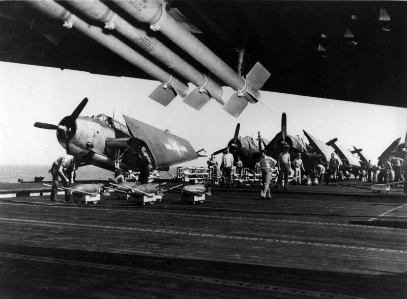 TBMs_with_HVAR_rockets_on_carrier_c1944