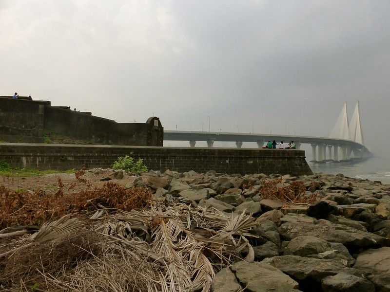 Bandra Fort - view from the rocks