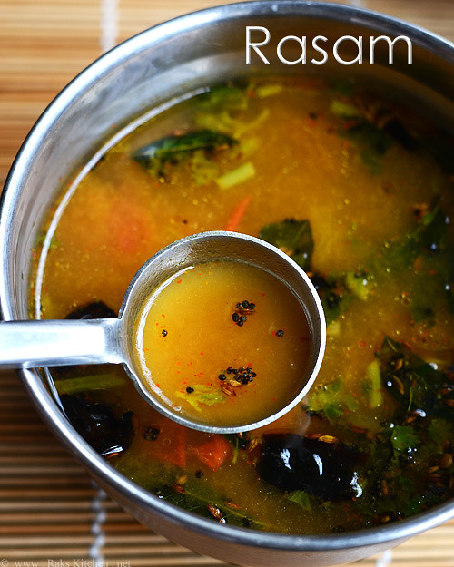 Easy Rasam Recipe How To Make Rasam Raks Kitchen Indian