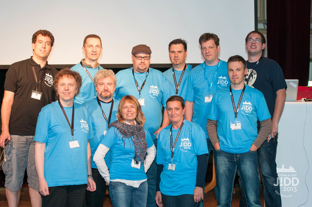 JoomlaDay 2013 in Nürnberg, Videoteam