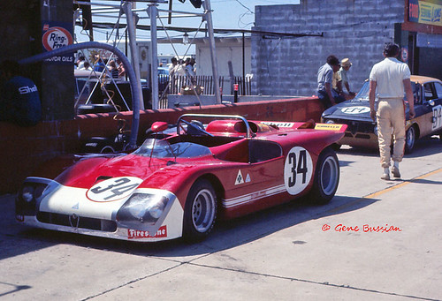 Alfa Romeo T33/3 at Sebring 1971 by Nigel Smuckatelli