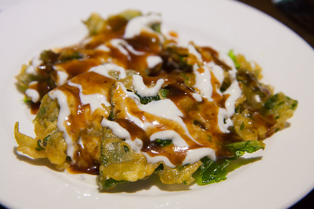 Spinach chaat, Spice Symphony