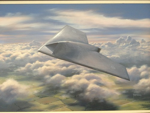 BAE Systems Taranis Unmanned Air Vehicle Demonstrator May 2007